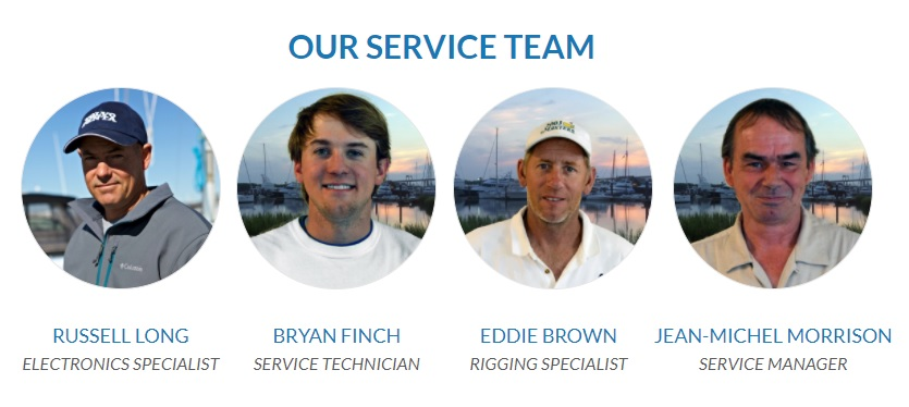 boat maintenance team